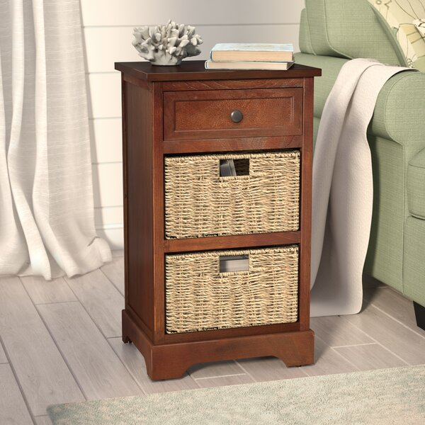 Ardina 1 Drawer End Table by Beachcrest Home