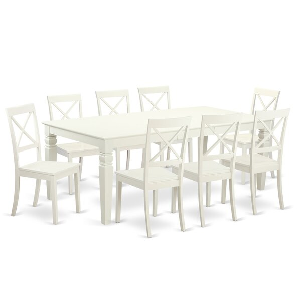 Belavida 9 Piece Dining Set by Darby Home Co Darby Home Co