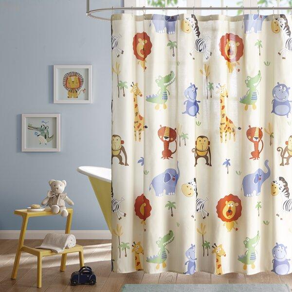Derek Printed Shower Curtain by Viv + Rae