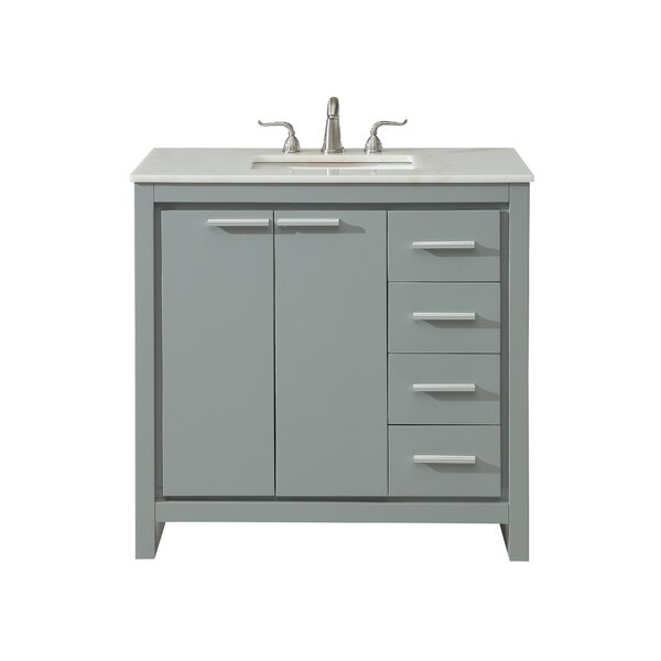 Easterling 36 Single Bathroom Vanity Set by Ebern