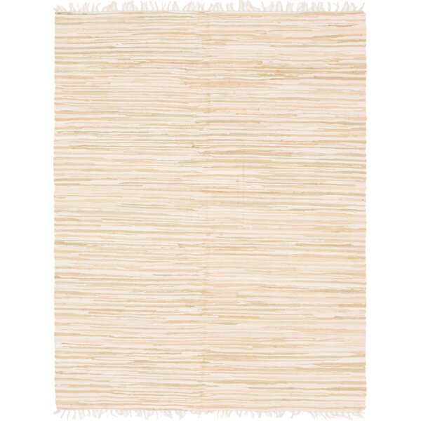 Brody Hand Woven Wool Ivory Area Rug by Highland Dunes