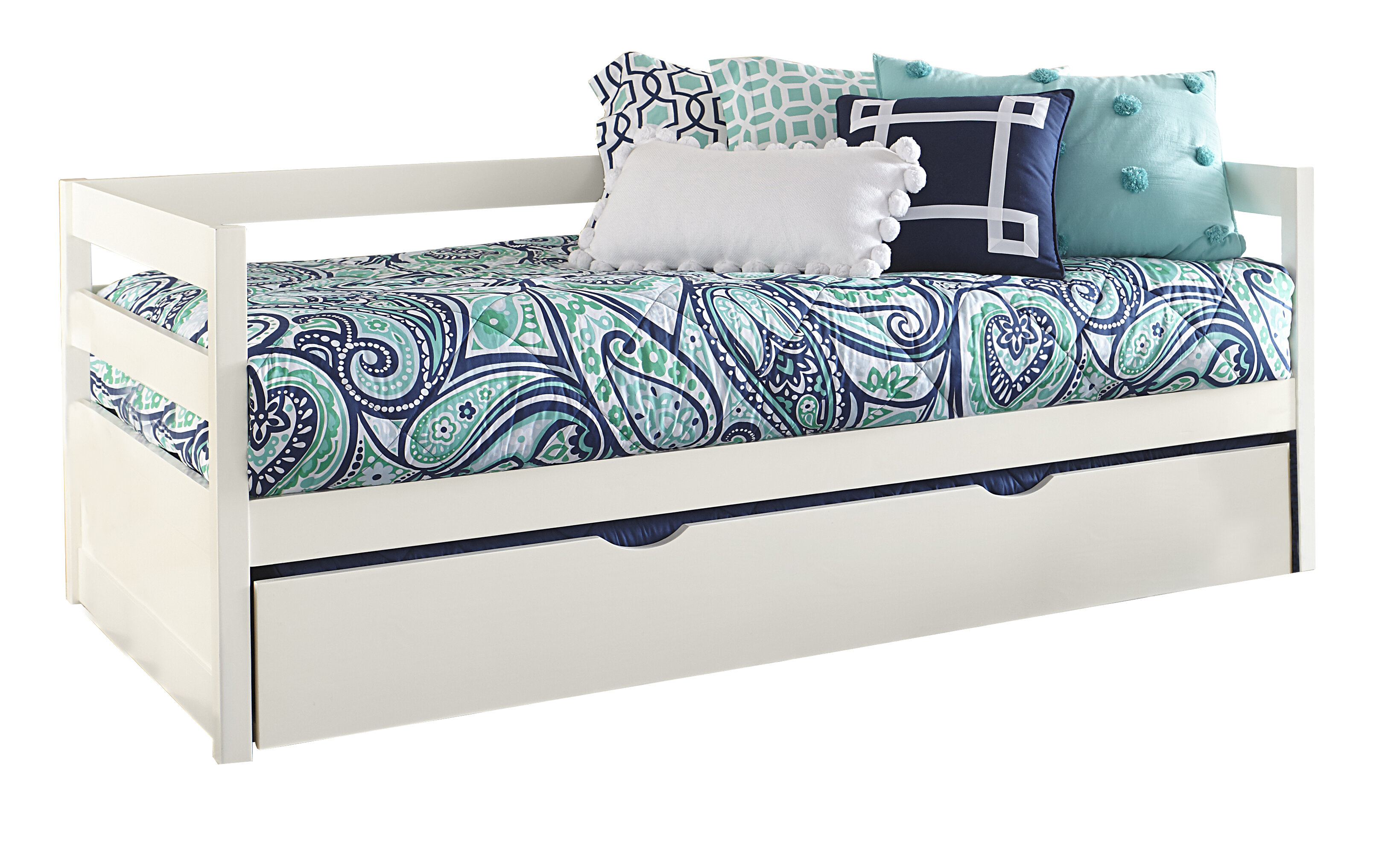 - Binne Twin Daybed With Trundle & Reviews AllModern