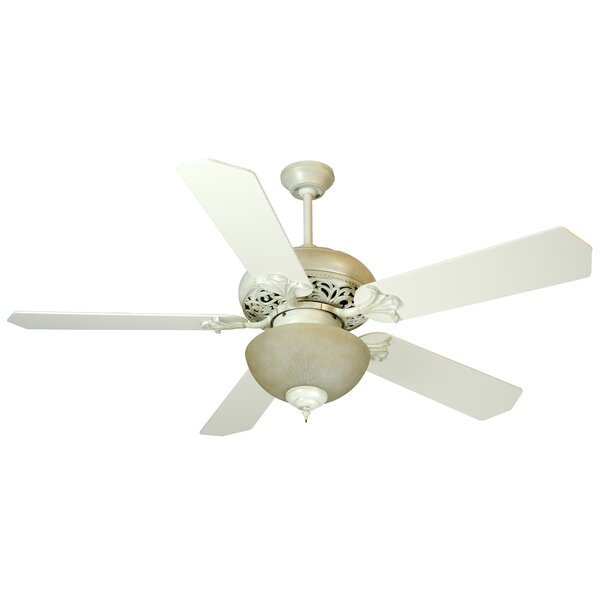 52 Shawna 5 Blade Traditional Ceiling Fan by Fleur De Lis Living