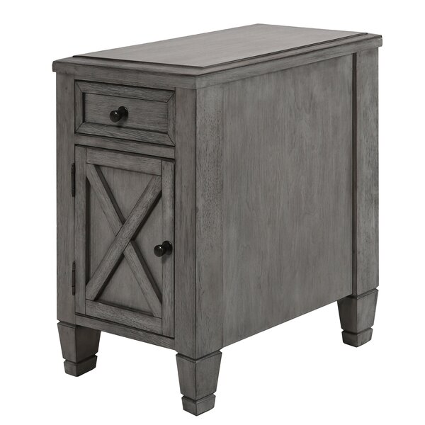 Parada End Table With Storage By Gracie Oaks
