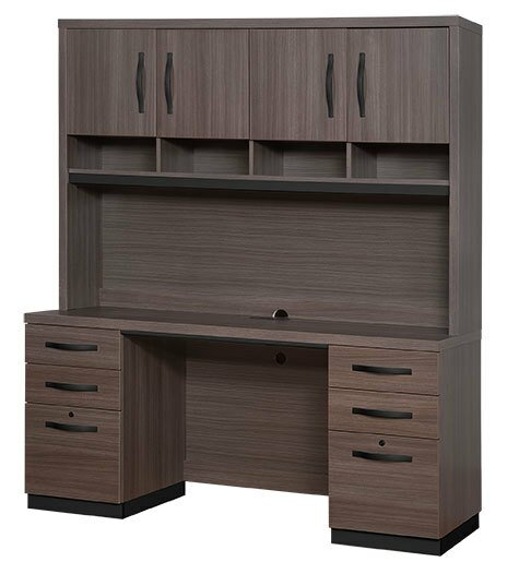Desmond Armoire Desk With Hutch by Ivy Bronx