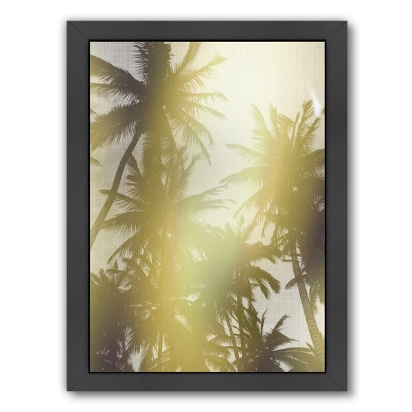Trees In Paradise Framed Photographic Print by Bay Isle Home
