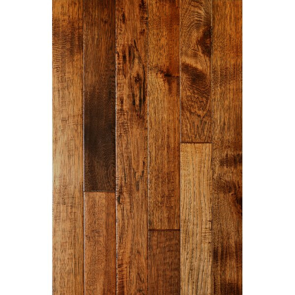 Smokehouse 3 Solid American Hickory Hardwood Flooring in Albuquerque by Albero Valley