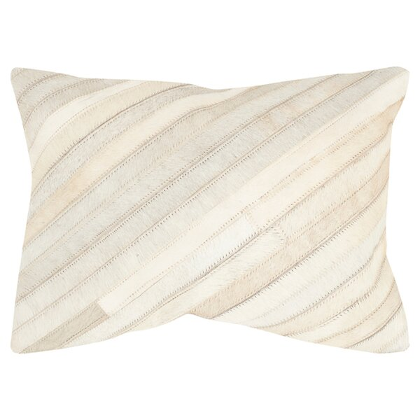 Cherilyn Suede Lumbar Pillow (Set of 2) by Safavieh