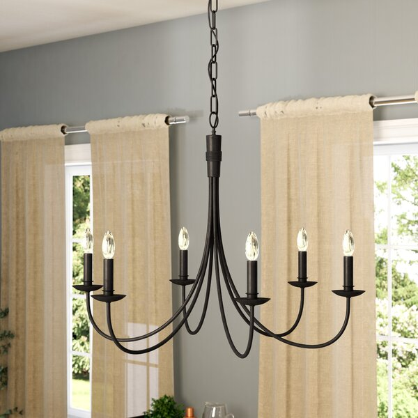 Souders 6-Light Chandelier by Laurel Foundry Moder
