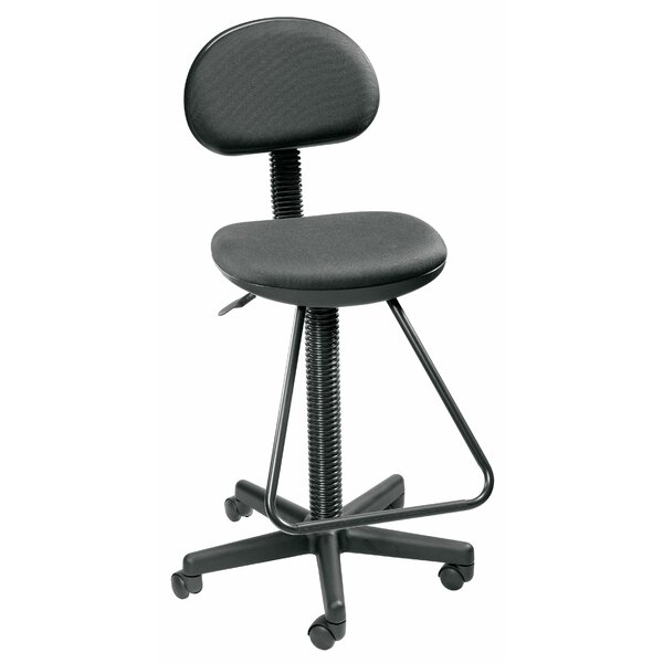 Economy Low-Back Drafting Chair by Alvin and Co.