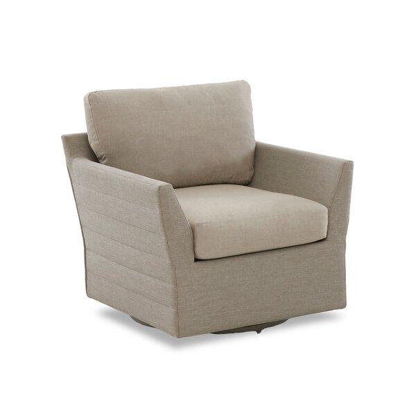 Heywood Swivel Patio Chair with Sunbrella Cushions by Brayden Studio Brayden Studio