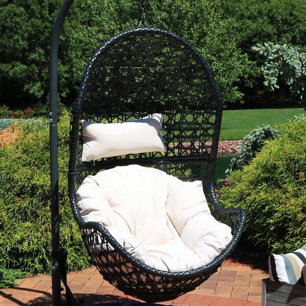 Farris Hanging Egg Chair Hammock by Bayou Breeze Bayou Breeze