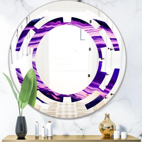 Geode 4 Space Modern Frameless Wall Mirror