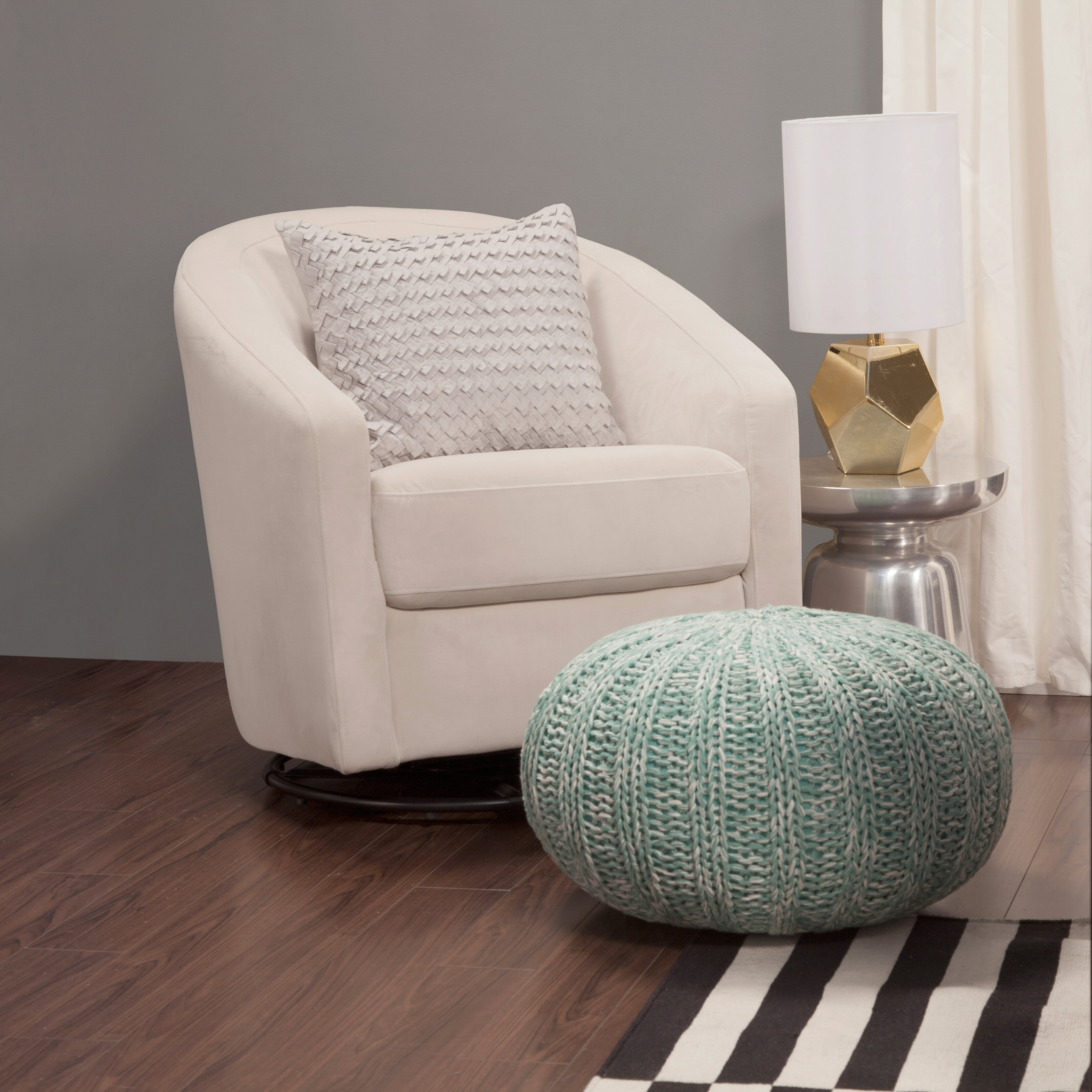 Incredible Madison Swivel Glider Reviews Allmodern Bralicious Painted Fabric Chair Ideas Braliciousco