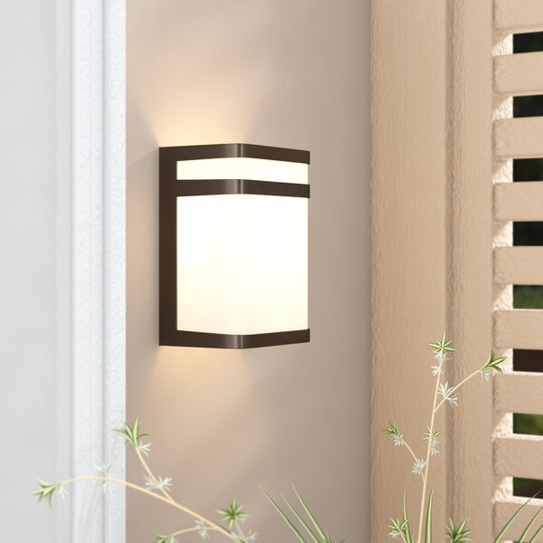Wyche 1-Light LED Flush Mount by Brayden Studio