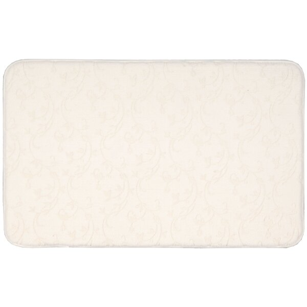 Hillesden White Area Rug by Charlton Home