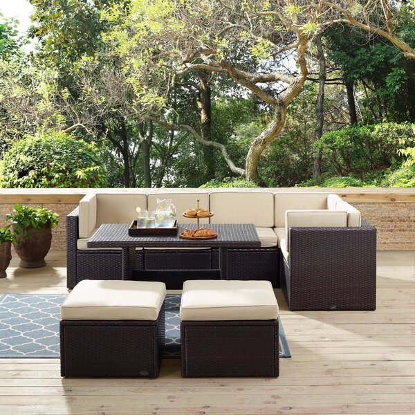 Spohn 8 Piece Sectional Seating Group with Cushions by Ivy Bronx