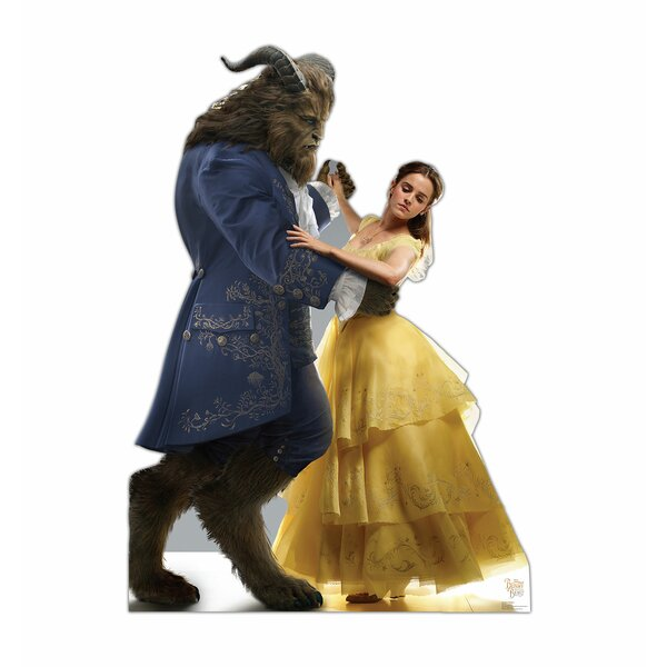 Beauty and the Beast Belle and the Beast Cardboard Standup by Advanced Graphics