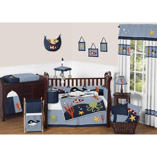 Ocean 9 Piece Crib Bedding Set by Sweet Jojo Designs
