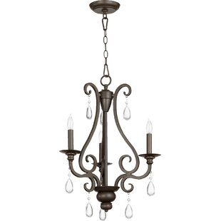 Reviews Anders 3-Light Candle Style Chandelier By Quorum