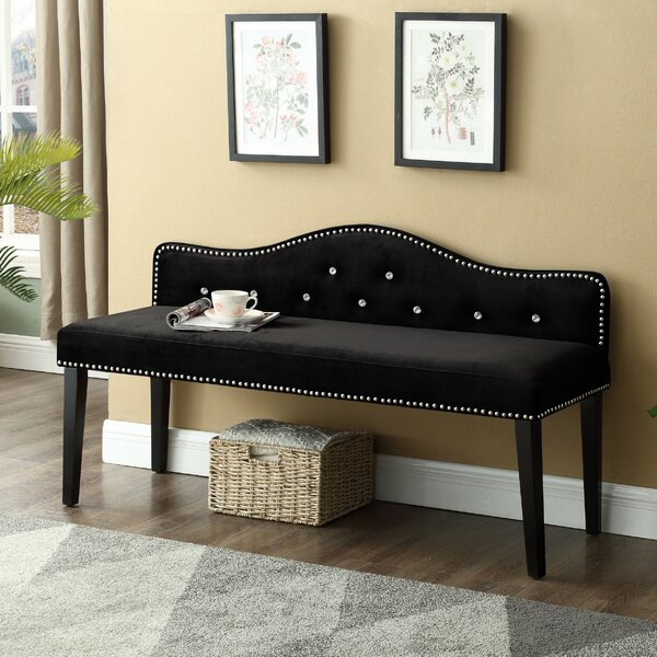 Floodwood Upholstered Bench by Darby Home Co