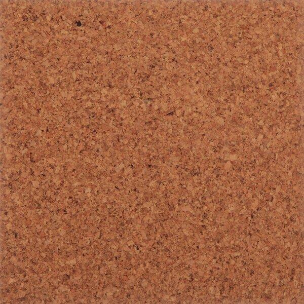 Floor Tiles 12 Solid Cork Hardwood Flooring in Sandy by APC Cork