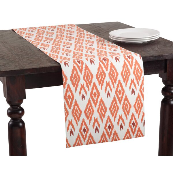 Ikat Printed Runner by Saro