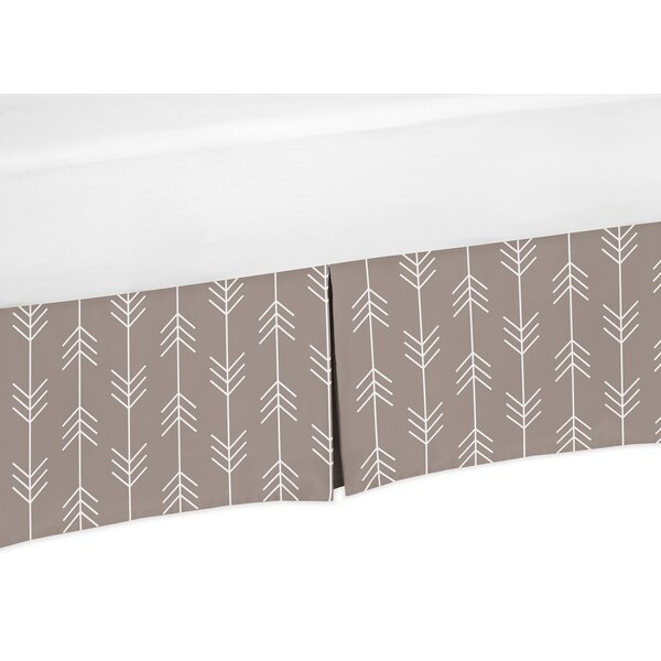 Outdoor Adventure Arrow Print Crib Skirt by Sweet Jojo Designs