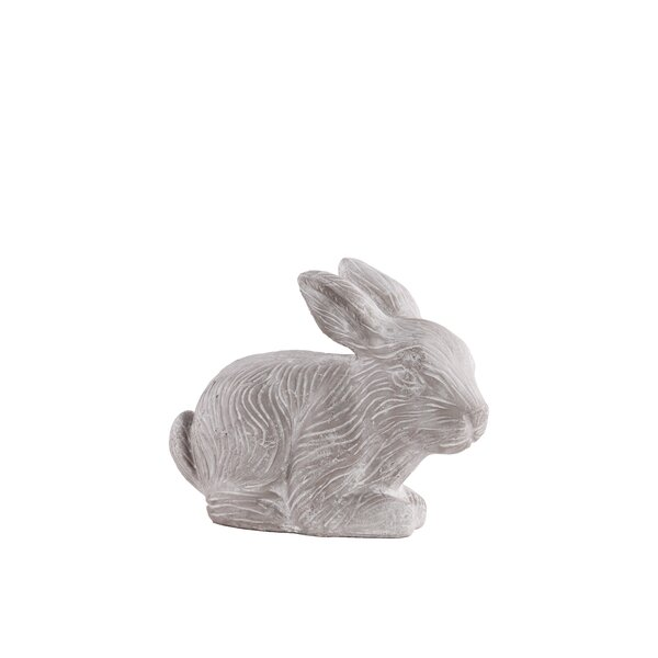 Terracotta Rabbit Figurine by Urban Trends