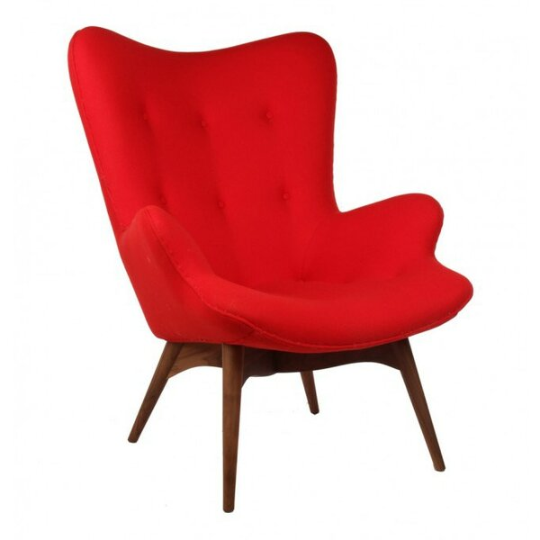 Premium Feather Lounge Chair by Langley Street