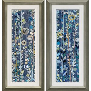 Sky 2 Piece Framed Graphic Art Set by Paragon