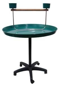 Bird Stand in Green by YML