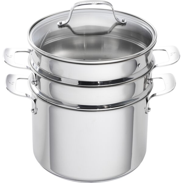 8 qt. Stainless Steel Multi-Pot (Set of 4) by Emeril Lagasse