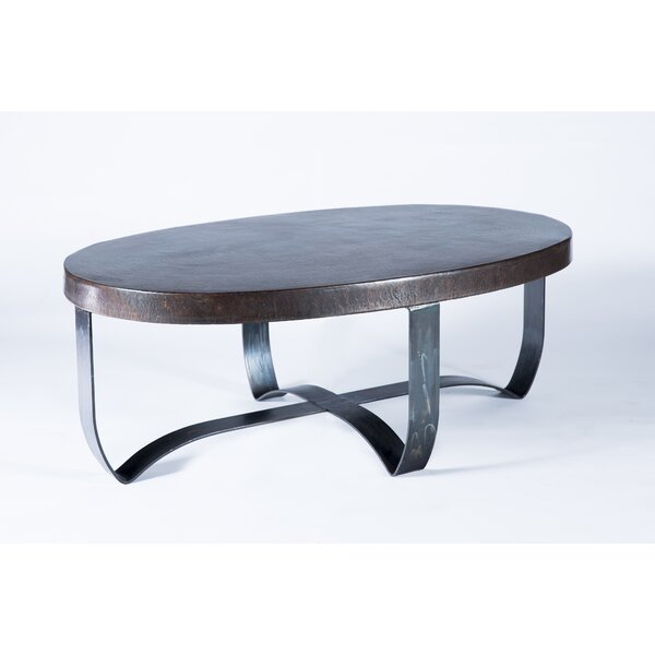 Maleah Strap Coffee Table by 17 Stories