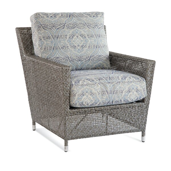 Edisto Patio Chair with Cushions by Braxton Culler