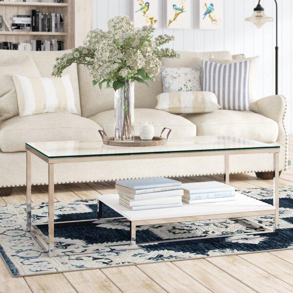 Saniya Frame Coffee Table With Storage By Wade Logan