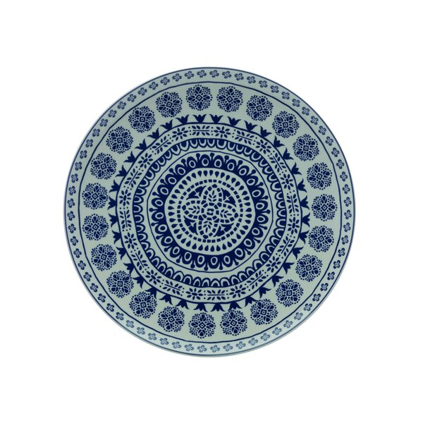 Blue Antico Round Platter by Maxwell & Williams