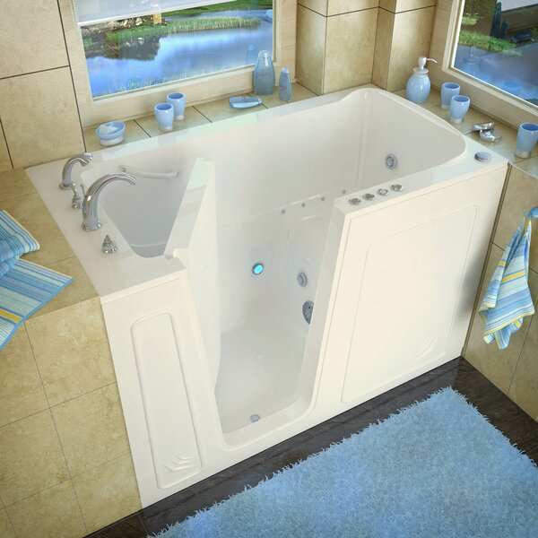 Aspen 60 x 32 Whirlpool & Air Jetted Bathtub by Therapeutic Tubs