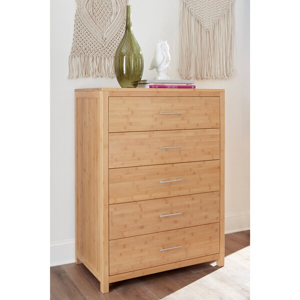 Acosta 5 Drawer Chest by Millwood Pines