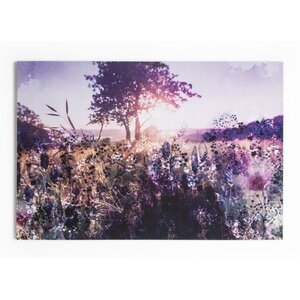 Summer 2015 Layered Landscape Photographic Print on Wrapped Canvas by Graham & Brown