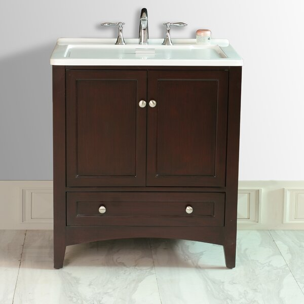 Savoy 30 Single Bathroom Vanity Set by dCOR design