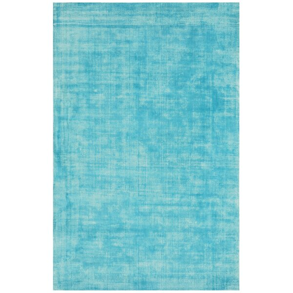 Antique Hand-Woven Turquoise Area Rug by YumanMod