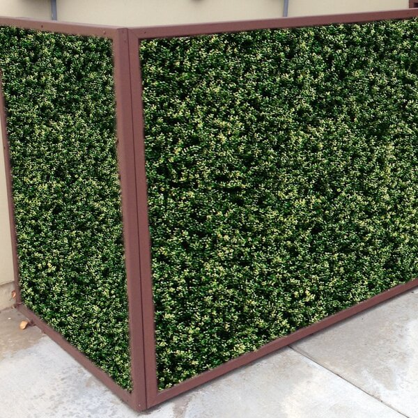 2 ft. H x 2 ft. W Artificial Ficus Spring Fence Panel (Set of 4) by GreenSmart Dekor