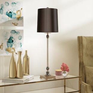 Top Reviews Kardos Crystal 33.5 Buffet Lamp By Willa Arlo Interiors