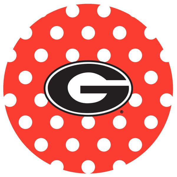 University of Georgia Dots Collegiate Coaster (Set of 4) by Thirstystone