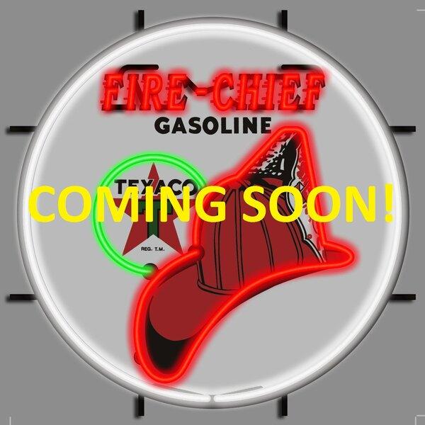 Texaco Fire Chief Neon Sign by Neonetics