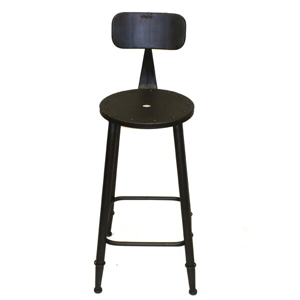 Christien 28 Bar Stool by Williston Forge