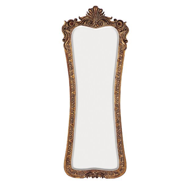 Traditional Rectangle Bevel Wall Mirror by Astoria Grand
