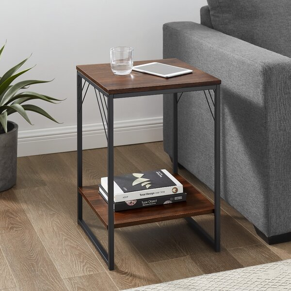Zuniga Sled End Table With Storage By 17 Stories