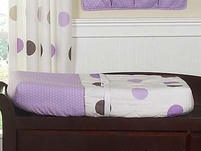 Mod Dots Changing Pad Cover by Sweet Jojo Designs